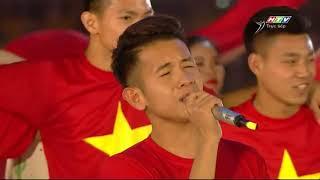 Niềm Tin Chiến Thắng - Mỹ Tâm Hát Cùng U23 Việt Nam - Giao Lưu U23 Việt Nam 4/2/2018
