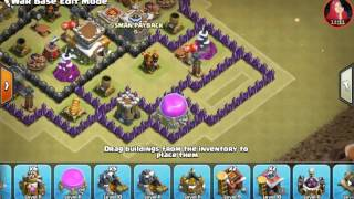 Base War Th 8 Anti Naga P E K K A Dan Hoq Terkuat Update 2017 123vid