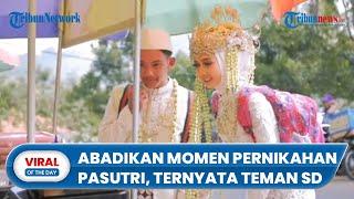 Viral Kisah Fotografer Abadikan Momen Pernikahan Pasutri, Ternyata Teman SD: Jagain Jodoh dari SD