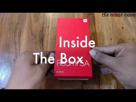 Xiaomi Redmi 5A Unboxing and First Look