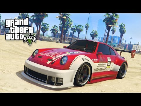 "NEW ""PFISTER COMET RETRO CUSTOM"" SPORTS CAR!! (GTA 5 Christmas DLC Update)"