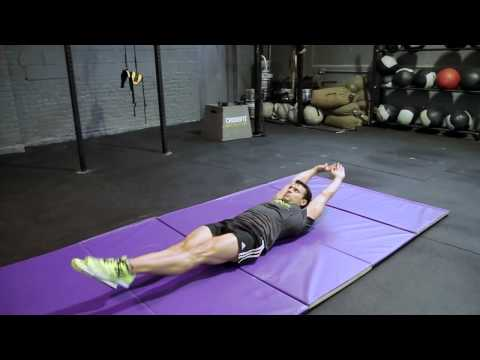 One Leg Alternating V-Up Crunch