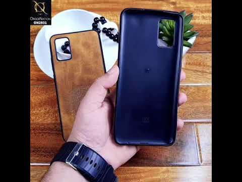 Samsung Galaxy A02 - Brown - Newest Vintage Flower Look Soft Case