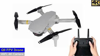 Q9 Low Budget WiFi 4K Camera Drone – Just Released !