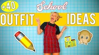 Gambar cover SCHOOL OUTFIT IDEAS 2017 40+   BACK TO SCHOOL