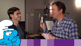 The Lost Village – Rainn Wilson Getting into Character • Смурфики