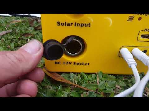 Generador solar portatil.. MundoSolar