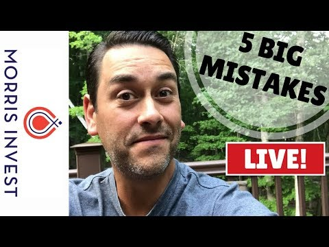 The 5 Mistakes New Real Estate Investors Make
