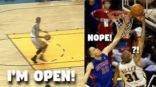 """NBA """"I THOUGHT I WAS OPEN"""" Moments"""