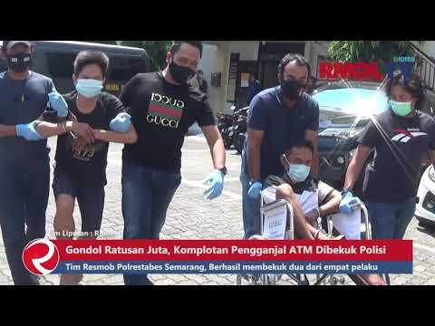 Gondol Ratusan Juta, Komplotan Pengganjal ATM Dibekuk Polisi