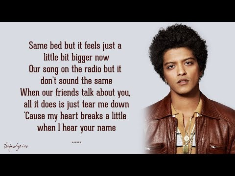 When I Was Your Man - Bruno Mars (Lyrics)