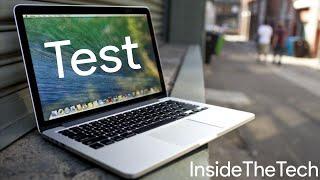 Test MacBook Pro Retina 2015 Français