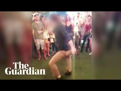 Dancing FBI agent drops and fires gun in nightclub