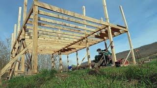 Sawmill Shed Complete Build - YouTube