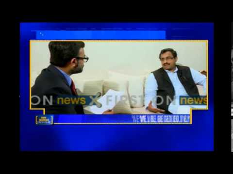 NewsX Exclusive interview with Ram Madhav