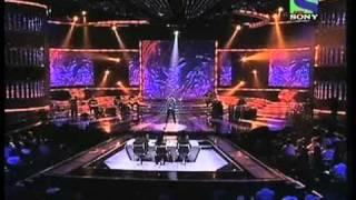 X Factor India - Amit Jhadav's passionate singing on Zara Sa- X Factor India - Episode 17 - 9th Jul 2011