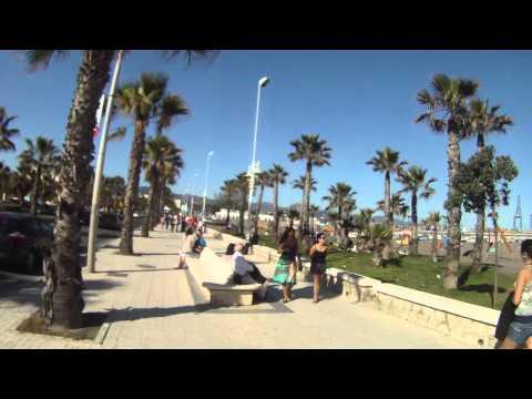 Málaga en bici 8, Térmica-Baños del Carmen 2.MP4