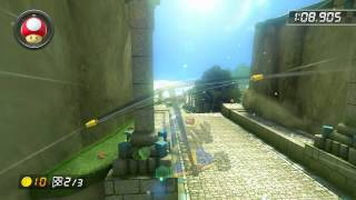 Thwomp Ruins - 1:48.443 - HD ◆ DDSC (Mario Kart 8 World Record)