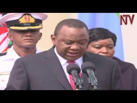 OBUTUJJU E NAIROBI: 14 bafudde, Uhuru Kenyatta yeeweredde abatujju