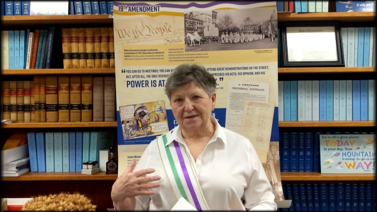 Thompson's Suffragettes 2020 Speak!