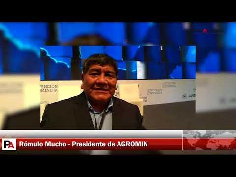 AGROMIN: Entrevista a Ing. Rómulo Mucho, Presidente de Agromin