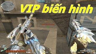 [ Bình Luận CF ] M4A1-S Iron Wolf : VIP Biến Hình Bá Đạo - Tiền Zombie v4