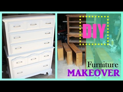 TRASH into TREASURE | DIY Furniture makeover