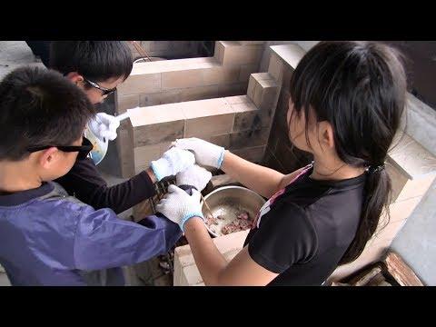 種子島の学校活動:南界小学校・油久小学校宿泊学習シーカヤック体験夕食カレー作り2019年