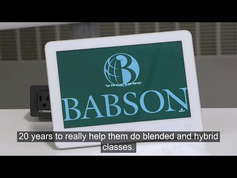 Babson College CIO discusses the classroom of the future