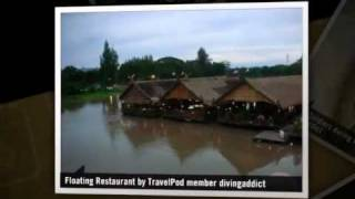 preview picture of video 'Death Railway Divingaddict's photos around Kanchanaburi, Thailand (burma railway memorial pics)'