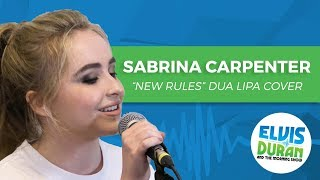 "Sabrina Carpenter - ""New Rules"" Dua Lipa Acoustic Cover 