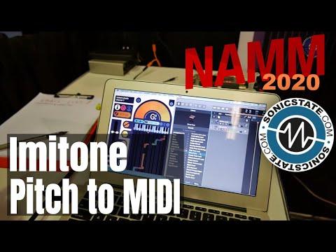 ה-Imitone ממיר  מקול/שירה ל-MIDI