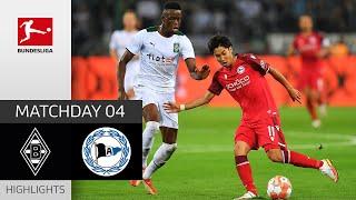 Borussia M'gladbach 3-1 Arminia Bielefeld Pekan 4
