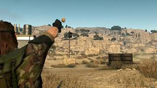 Metal Gear Solid V The Phantom Pain - Throwing Stones Mod