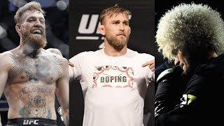 Возвращение Хабиба и Конора в UFC, штраф Густафссона за футболку, чемпион UFC отказался от титула