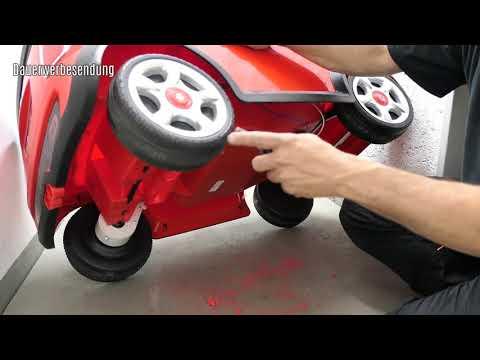 Mini Cooper S Kinder Elektroauto Leistungssteigerung umbau auf 2 Motoren