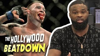 Tyron Woodley Throws Down $10k Bet For Colby Covington