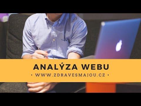 Analýza webu zdravesmajou.cz