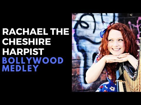 Rachael the Cheshire Harpist Video