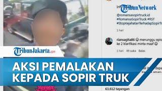 Kapolsek Kalideres Tangani Kasus Viral Video Aksi Seorang Pria terhadap Sopir Truk di Kalideres