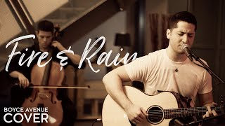 Fire And Rain - James Taylor (Boyce Avenue acoustic cover) on Spotify  Apple