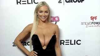 Lindsey Pelas 2018 Babes in Toyland Pet Edition Red Carpet