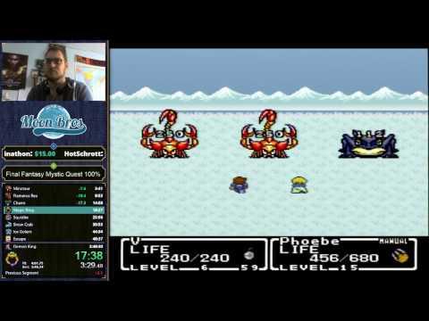 Final Fantasy Mystic Quest 100% Speedrun in 2:47:15