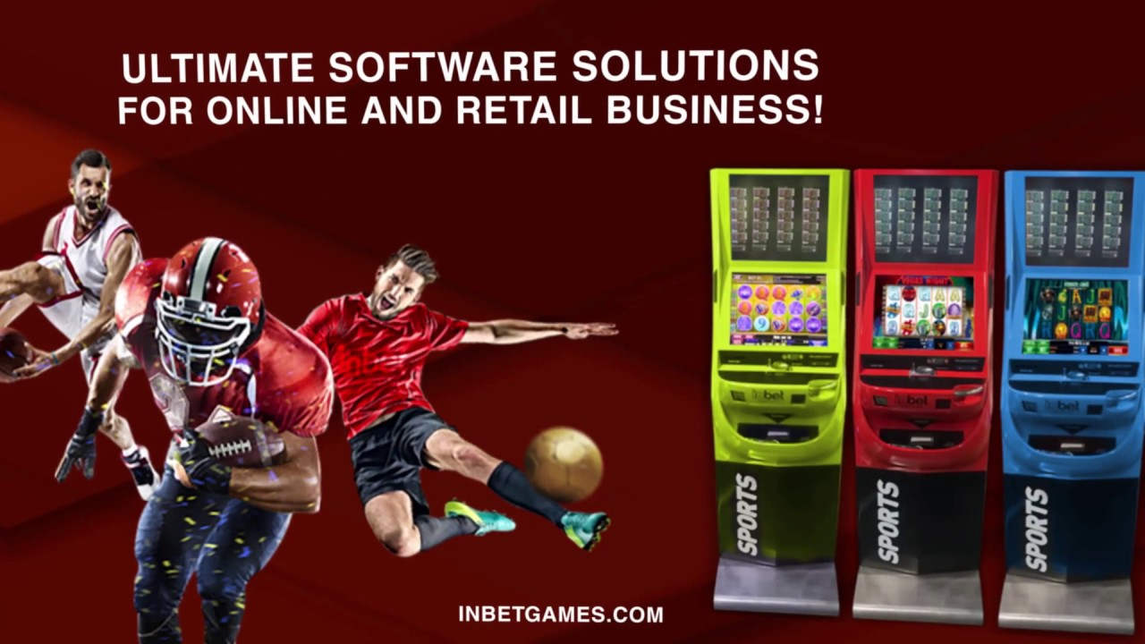 Inbet Games. Retail and Online Solutions for Gambling and Betting Businesses