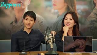 DVD Cut Director Descendant of the Sun Couple Commentary English Sub - YSJ Crying