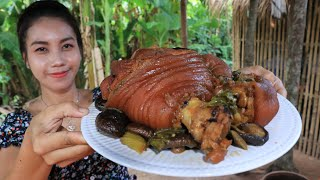 Tasty pork belly recipe cooking by Natural Life TV Cooking
