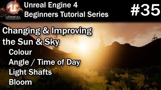 #35 Using the Sky Sphere & Sun in Unreal Engine 4 | UE4 Tutorial