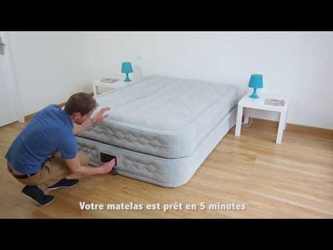Небольшой обзор кровати Intex 64464