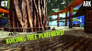 Tree Platforms Building Guide   Tour And Tips   ARK: Survival Evolved