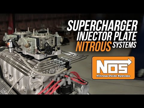 NOS Supercharger Injector Plate Nitrous Systems